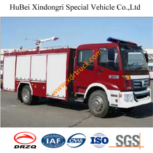 Camión de bomberos de la oferta del agua de 5.5 toneladas Dongfeng Euro3