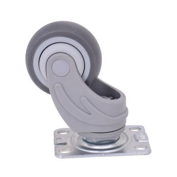 Roulette médicale à roue TPR, 3 pouces