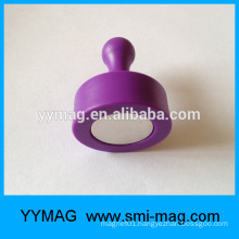 High quality colored magnetic push pins