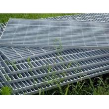 Revêtement de sol / 304/316 / Grilles de barres en acier inoxydable certifiées galvanisées