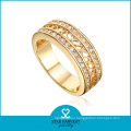 Genuine 925 Sterling Silver Wholesale Low MOQ Rings (R-0334)