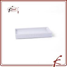 Oem jabonera rectangular de cerámica