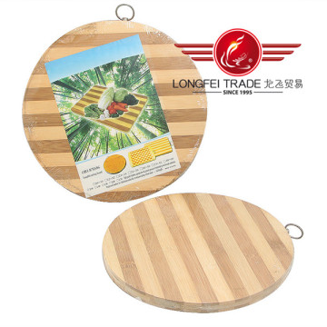 Thick Round Custom Bamboo Cutting Board