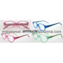Moda óculos moldura óptica moldura (wrp411391)