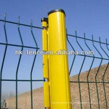 Heißer Verkauf PVC-Draht Zaun Panel / temporäre Fußgänger Barrikade