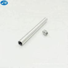 Customized anodized aluminum CNC turning Mechanical Pen Parts machining based on drawing