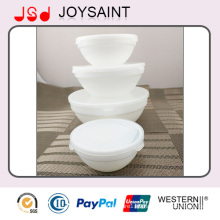 Wholesale White Exquisite Table Use Glassware Glass Bowl for Fruit and Food