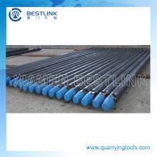 Precio barato minería piezas tubos de perforación de barra de acero DTH