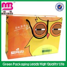La fábrica respeta la función ambiental de la política de las muestras reciclada embalaje de la bolsa de papel