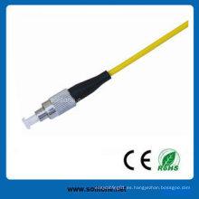 Sc Single Mode Simplex Cable de fibra óptica de remiendo