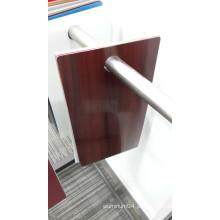 Painel de alumínio de madeira para cortinas de cortinas para construção exterior