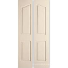 4 painel semi-acústica moldado portas Bifold decorativo