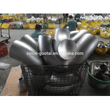 Codo forjado de acero inoxidable 304 316 3000 psi