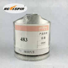 Chinese Foton 483 Piston with 1 Year Warranty Hot Sale Good Quality