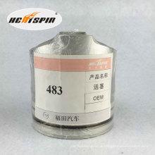 Pistão chinês de Foton 483 com garantia de 1 ano Boa qualidade quente da venda