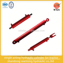 single acting hydraulic cylinder for tractor