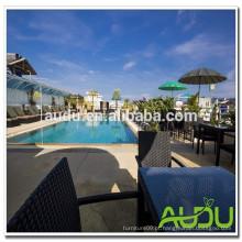 Audu Thailand Sunny Hotel Project cadeira de piscina de enrugamento