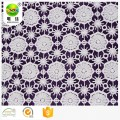 fanned chemical embroidery lace fabric for girl clothes