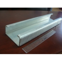 C profile spacers for highway guardrails