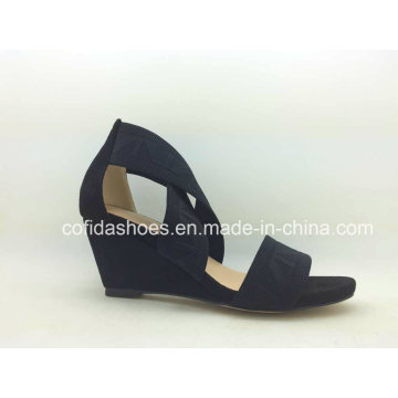 Sexy Chunky Women′s High Heel Sandals