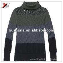 Camisola feminina elegante 2013 novo / excelente tecido antiderrapante em cashmere