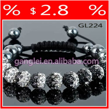 beads supplies shamballa bracelet