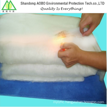 Flame retardant polyester wadding with CA 117 certificate
