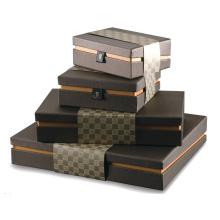 Caja de embalaje de la joyería / Caja de embalaje de la cartulina de papel / Cajas de encargo