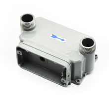 Shenzhen precision customised aluminium motor housing for die casting mould