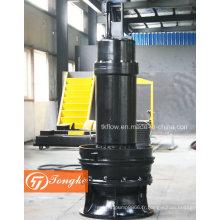 Fabrication de pompe submersible à flux mixte pour les eaux usées