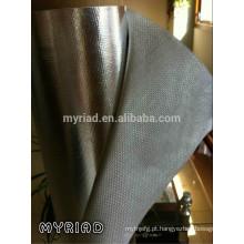 Folha de alumínio Laminação do pano de vidro / para o envoltório do duto, a placa do duto ea isolação da tubulação