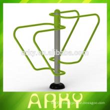 Équipement de barres parallèles à colonne unique en plein air de haute qualité