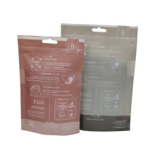 Resealable Zipper Compostable Garment Clothing Sock Packaging Bags