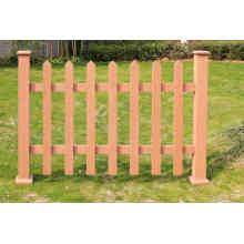 WPC wasserdicht lange Leben im Freien Holz Kunststoff Composites Zaun (für Garten, Park, Wiese oder eine Weide, Scheunenhof)