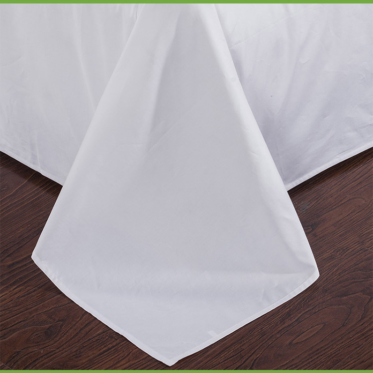Hotel White Bed Sheet