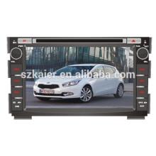 Auto-DVD-Player, Fabrik direkt! Quad-Core-Android für Auto, GPS / GLONASS, OBD, SWC, Wi-Fi / 3g / 4g, BT, Spiegel Link für Cee'd