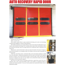 Self-repairing Kinerja Tinggi PVC Curtain Automatic Door