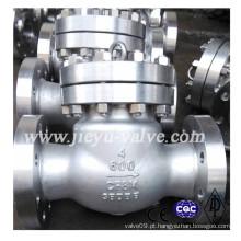 Aço Inoxidável CF8m / 316 flange Swing válvula de retenção
