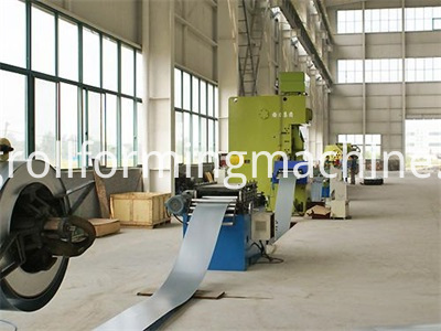 Galvanized Steel Scaffolding Walk Board Roll Forming Machines