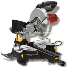 Máquina de corte de madera de Power 1900w Máquina de corte eléctrica portátil de 255mm de Mitre