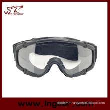 Lunettes de sécurité lunettes tactique Airsoft Sport Style sans bouton