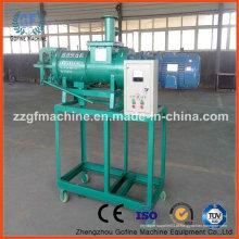 Máquina de fertilização de separador de água de estrume animal