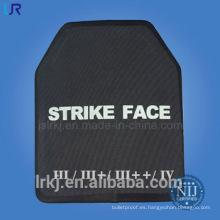 Placa balística Hard Armor para chaleco antibalas