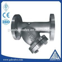 Filtro de flange de aço inoxidável 304 / cf8