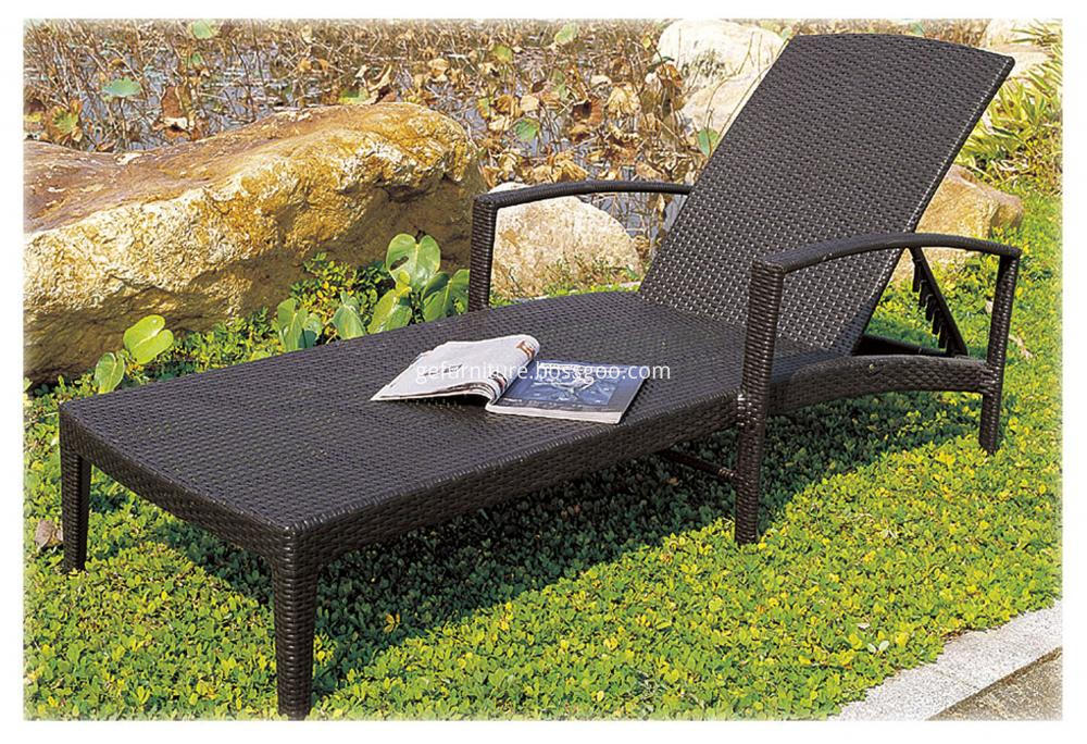 Outdoor Furniture Sun Lounger Bed