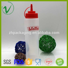 Soft squeeze LDPE 700ml botella de cuentagotas de plástico de punta fina con materia prima