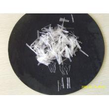 Fibra de grampo de PP em betão, fibra de PP com monofilamento de concreto