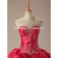 Hochzeitskleid 2017 Ballkleid neuesten Design Hochzeitskleid Ballkleid rot Halfter Braut Ballkleid Brautkleider