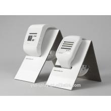 Support d'affichage de montre acrylique blanche