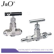 Válvula de agulha de instrumentos forjados de uma peça de aço inoxidável